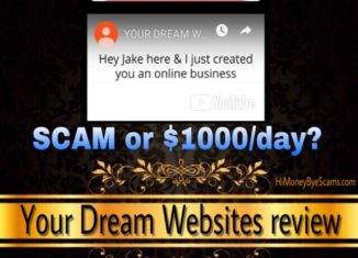 Is Your Dream Websites a scam review