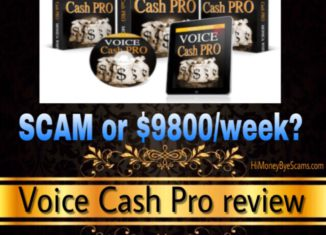 Voice Cash Pro review scam