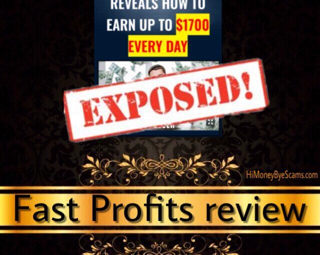 Fast Profits.online scam review