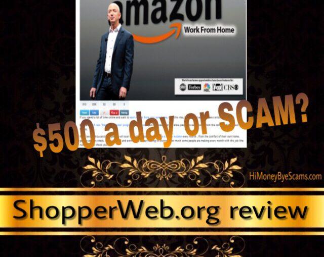 ShopperWeb.org scam review