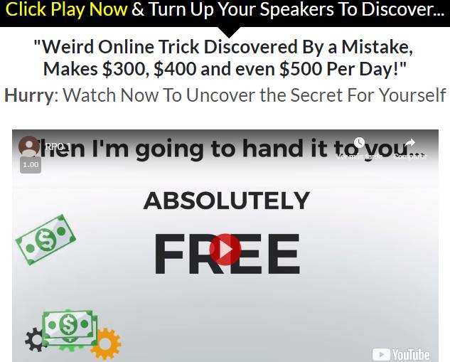 Real Profits Online scam fake claim