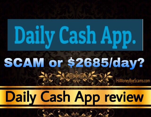 Daily Cash App review scam