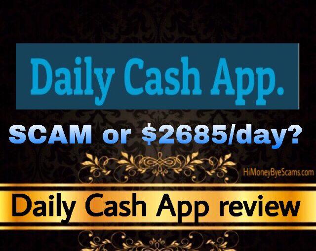 Daily Cash App review scam