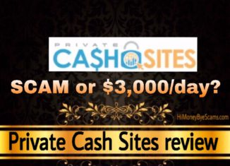 Private Cash Sites review scam