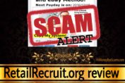 RetailRecruit.org review scam