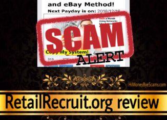 RetailRecruit.org review scam