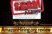 AmazonHiring.org scam review