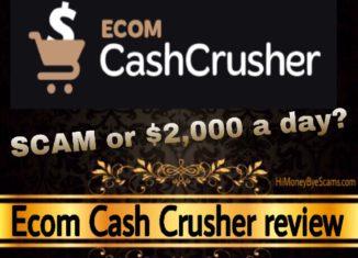 Ecom Cash Crusher review scam