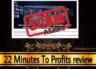 22 Minutes To Profits scam review