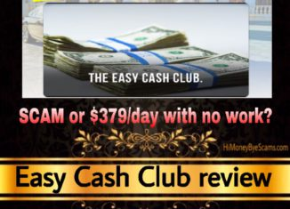 Easy Cash Club review scam