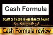Cash Formula review scam
