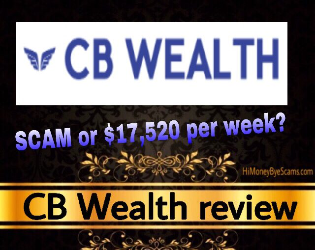 CB Wealth review scam