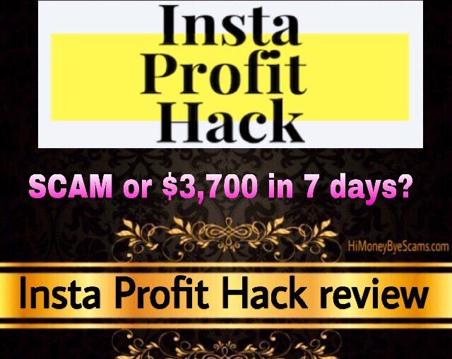 Insta Profit Hack review scam