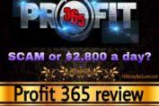 Profit 365 review scam