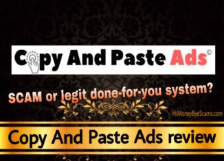 Copy And Paste Ads review scam