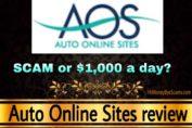 Auto Online Sites review scam