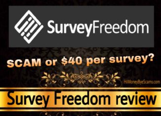 Is Survey Freedom a scam review