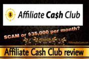 Affiliate Cash Club review scam