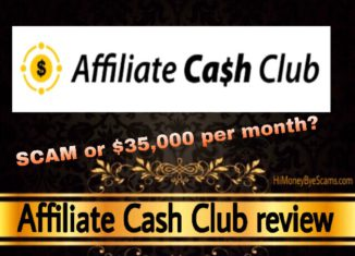 Affiliate Cash Club review scam