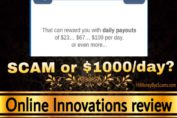 Online Innovations review scam