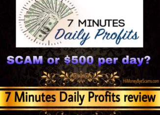 7 Minutes Daily Profits review scam