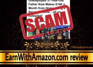 EarnWithAmazon.com scam review
