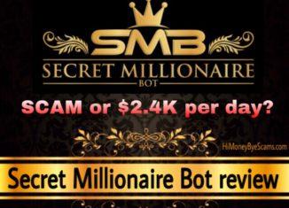 Secret Millionaire Bot review scam