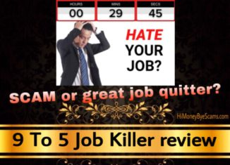 9 To 5 Job Killer review scam