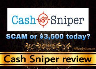 Cash Sniper review scam