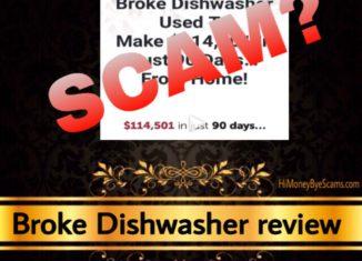 Broke Dishwasher review scam