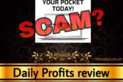 Daily Profits review scam dailyprofits.cc