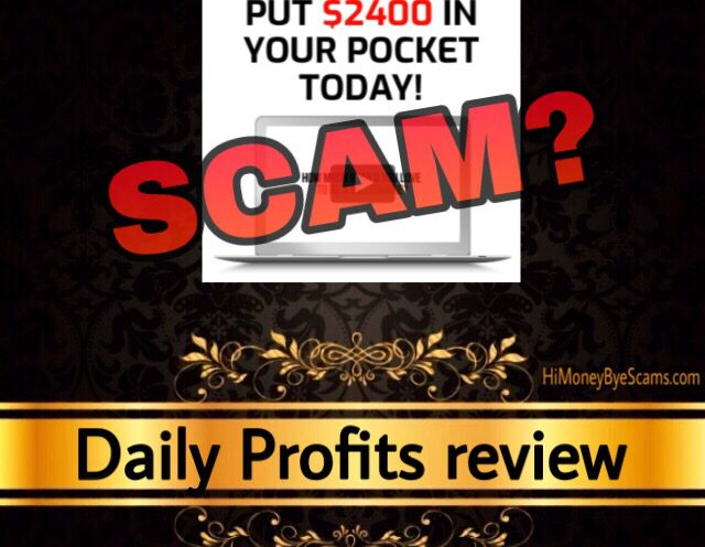 Daily Profits review scam dailyprofits.cc