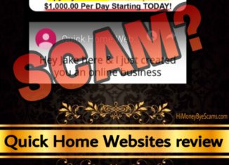 Quick Home Websites review scam
