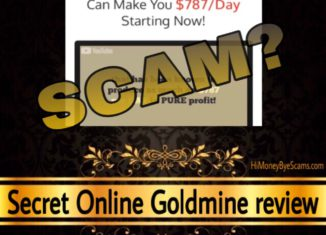 Secret Online Goldmine review scam