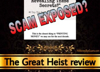 The Great Heist review scam