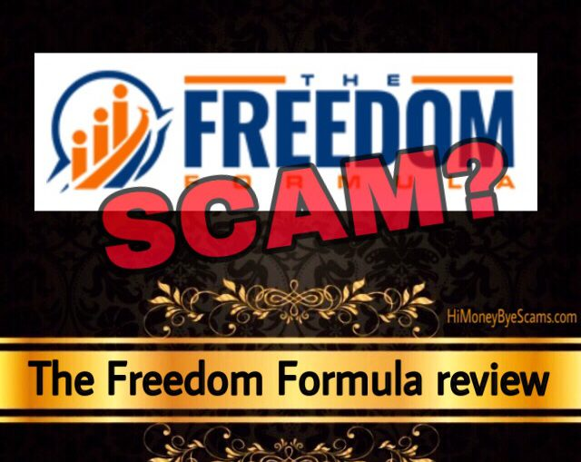 The Freedom Formula review scam