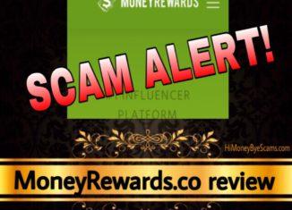 MoneyRewards.co review scam