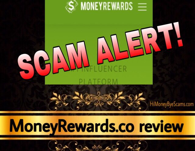 MoneyRewards.co review scam
