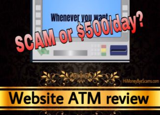 Website ATM scam review