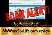MyWorkForLife.com review scam