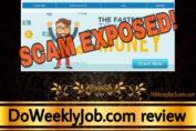 DoWeeklyJob.com scam review