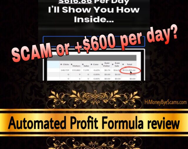 Automated Profit Formula review scam