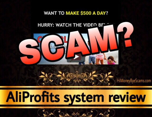 AliProfits system review scam