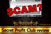 Secret Profit Club review scam