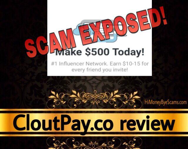 CloutPay.co review scam