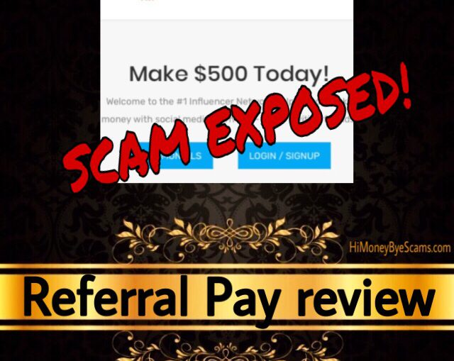 ReferralPay.co review scam
