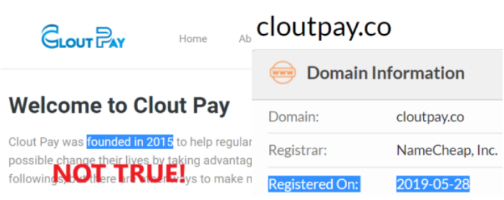 CloutPay co Review – Clout Pay SCAM to avoid! DO NOT share