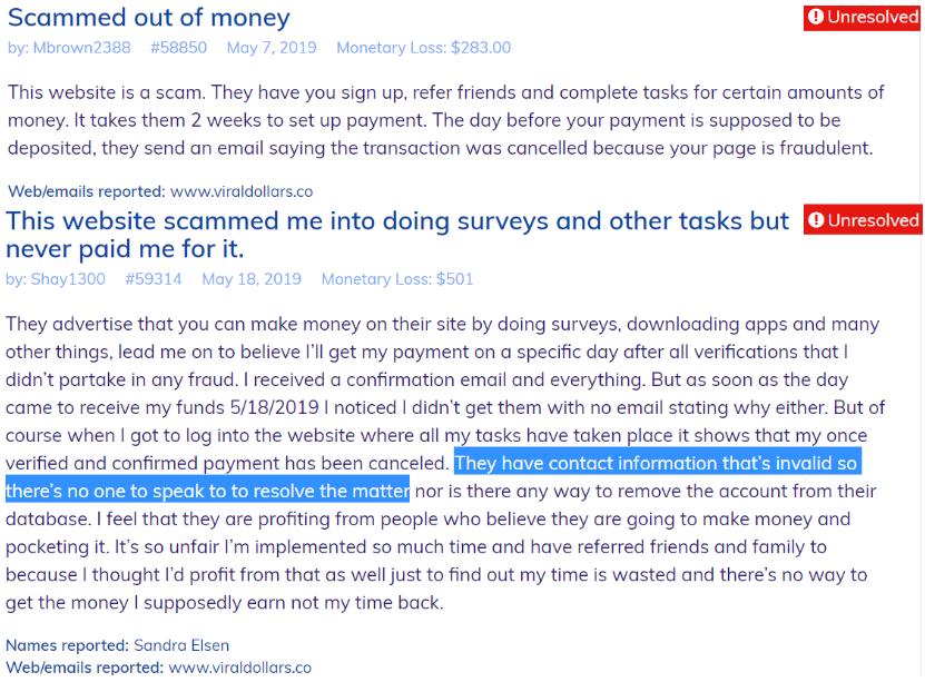 ReferralPay.co review complaints