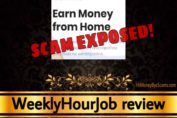 WeeklyHourJob review scam