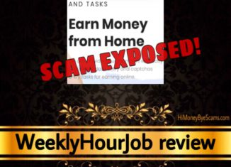 WeeklyHourJob review scam